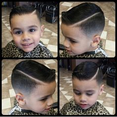 Boy hairstyle I like the shaved part