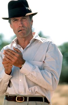 Clint Eastwood, 1990 The Man Who Loved A Good Tattersall 2.