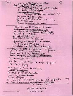 Sylvia Plath: draft