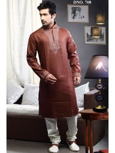 sherwani embellished with zari, sequins, beads, stone and patch work.