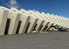 ritmo arquitectónico -  repetición ordenada de elementos que produce la sensación de movimiento, controlado o medido, sonoro o visual.