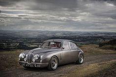 Een Jaguar Mark 2 zoals een MK2 hoort te zijn