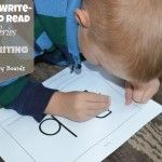 Play to Write - Write to Read: Week 4 Poke Writing & Beginner Story Boards
