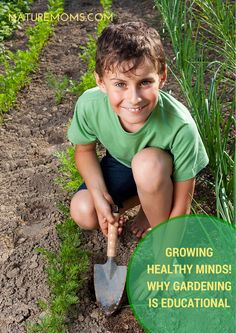 Growing Healthy Minds – Why Gardening is Educational by @TiffanyWashko