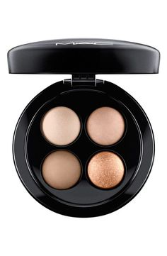 Four fabulous MAC eyeshadows in beautiful brown and gold shades from @Nordstrom.