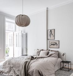 Turn of the century home in beige and white - via Coco Lapine Design blog