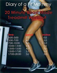 20 Minute Fit Mommy Treadmill Blast