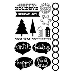 Spread Joy Stamp - Wonderland Collection - $15