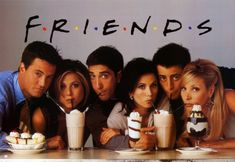 MY Friends, but I also love the TV series of Friends :D