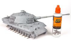The Modelling News: Andy finishes Meng Models scale King Tiger Henschel Turret with AK shades. The Modelling News, Detailed Paintings, Tiger Ii, Tiger Tank, Modeling Techniques, Camo Colors, Model Tanks, Ww2 Tanks, Panzer