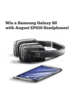Win a Galaxy S8 and EP650 Headphones!