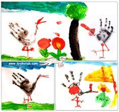 STORK Handprint | krokotak
