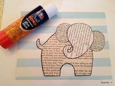 Elephant Card Tutorial - Adorable scrap paper craft! | Just Imagine - Daily Dose of Creativity