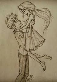Image Result For Pencil Drawing Boy And Girl Best Friends With