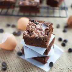 Chocolate Chip Nutella Brownies