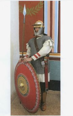 Roman legionary 3rd century AD