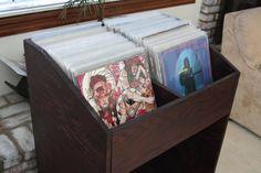John and Lauren's DIY Vinyl Record Shelf