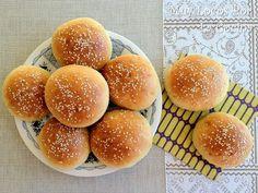 Twittear      Estos panecillos de hamburguesa son los más buenos que he comido en mi vida. Tienen un sabor riquísimo p... Bread Bun, Pan Bread, My Recipes, Baking Recipes, Pan Dulce, Love Food, Tapas, Bakery, Meals