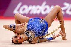 Evgeniya Kanaeva in Olympics Day 15 - Gymnastics - Rhythmic