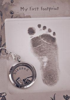 New Baby Keepsake Locket..perfect!! Capture the moments! carlapearl.origamiowl.com