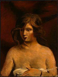 Portrait d'une fille - André Derain