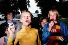 Boy in Yellow Shirt Smoking, Mark Cohen 1977 Color! American Photography Transformed October 2014 Amon Carter Museum of American Art Fotografia Social, 80s Aesthetic, Yellow Shirts, Street Photographers, Documentary Photography, Looks Cool, Photos, Pictures, Cool Kids