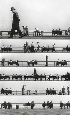 Harold Feinstein, Montage 1950