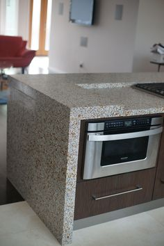 Terrazzco Kitchen Countertops Reliable Resilient Remarkable Terrazzo Home Www