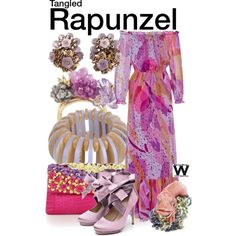 Inspired by Mandy Moore (voice) as Rapunzel in Disney's 2010 animated film Tangled