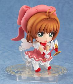 Authentic-Japan-Good-Smile-Nendoroid-Sakura-Kinomoto-Cardcaptor-Sakura-Acti