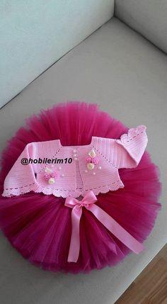 bebek örgüleri Toddler Dress, Gowns