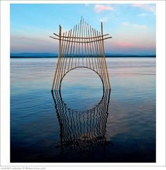 Land art by Sally Smith