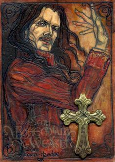 Dracula (with applied brass crucifix), Soni Alcorn-Hender