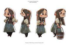 RYAN LANG PORTFOLIO: Hansel and Gretel Visual Development