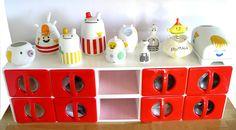 Jam Jar, Objet D'art, Kitchen Shelves, Butter Dish, Prada, Porcelain, Creatures, Retro, Holiday Decor