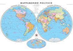 Series:  International wall maps Scale:  1:27.000.000 Format:  138 x 98 cm