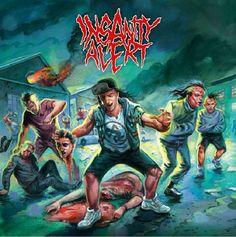 GERATHRASH - extreme metal: Insanity Alert - Insanity Alert (2014) | Crossover...