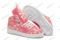 aad7bc1872ca Adidas Originals Jeremy Scott Skull Pink White Women s Running Shoes shop  adidas