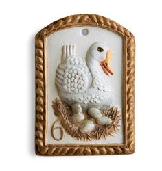 12 Days - 6 Geese a Laying: House on the Hill, Inc., Springerle and Speculaas Cookie Molds for Baking, Crafting, Decorating