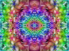 """""""Hormiguero en el planeta Psicodelium"""" Realizado con Gimp 2.8. http://www.sirenasinmar.blogspot.com"""