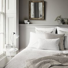 Avignon Bed Linen Collection - White from The White Company