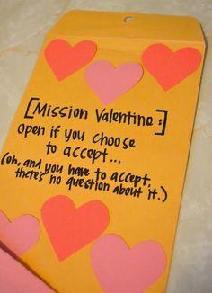 Bricolage de St-Valentin à faire soi-même - carte