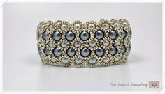 The Heart Beading: Beaded Bracelet with Pearls - YouTube video. Link is in the first paragraph at the end