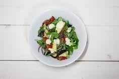 Work That Es' energierijke salade - Recept - Allerhande + gegrilde aubergine en uitjes