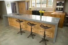 Küchenplatte Betonoptik arbeitsplatte mit betonoptik küchenarbeitsplatten aus beton vor