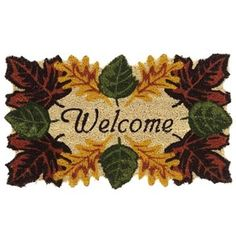 Door Mats On Pinterest Door Mats Doormats And Fall Door
