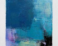 Dies ist ein Original abstrakte Gemälde von Hiroshi Matsumoto  Titel: 4. Dezember 2016 Größe: 9,0 x 9,0 cm (ca. 4 x 4) Leinwandgröße: 14,0 x 14,0 cm (ca. 5,5 cm x 5,5 cm) Medien: Öl auf Leinwand Jahr: 2016  Dies ist meine alltäglichen Malerei genannt 9 x 9-Malerei und der Titel ist das Datum, das ich dieses Gemälde schuf.  Malerei kommt mit Matten.  Gemälde ist maskiert grauweiß (nicht enthalten) 8 Zoll x 10 Zoll-standard-Rahmen passen und mit Echtheitszertifikat, vom Künstler handsigniert…