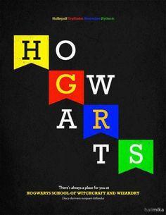 hogwarts houses-- get it.. hufflepuff, gryffindor, ravenclaw and slytherin