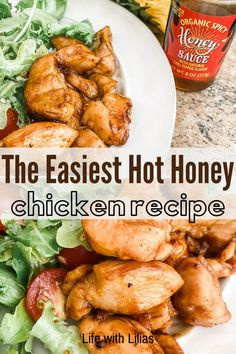 This hot honey recipe: skillet chicken is SO Easy! If you like spicy and sweet and need a quick and easy chicken recipe this is a keeper! Healthy Chicken Dinner, Chicken Breast Recipes Healthy, Chicken Meal Prep, Easy Chicken Recipes, Chicken Life, Honey Chicken, Clean Eating Recipes For Dinner, Easy Dinner Recipes, Hot Honey Recipe