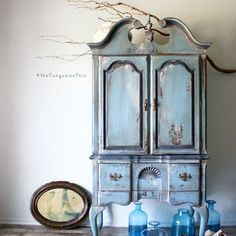 No. 2 { Perfectly Imperfect} now available www.theturquoiseiris.com yes, I accidentally cut off the legs in this photo- perfectly imperfect at it's finest #etsy #shop #paint #art #blogger #armoire #rustic #theturquoiseiris #vintage #furniture #makeover #farmhouse #painted #create #original #finishes @generalfinishes #chalkpaint #blogger #interiordecorating